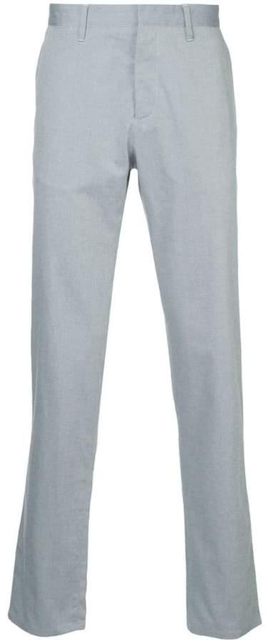 Cerruti regular tailored trousers