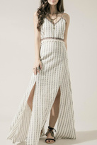 Moon River Embroidered Boho Maxi