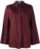 Nina Ricci oversized shirt - women - Silk - 36
