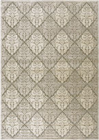 Nourison Queen Anne High-Low Carved Rectangular Rug