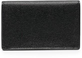 Valextra Textured Leather Wallet