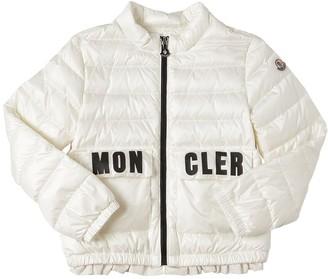 Moncler Violette Nylon Down Jacket