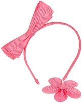 Wee Ones Herringbone Headband Bundle - Hot Pink-One Size
