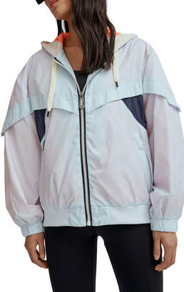 Noize Autumn Colorblock Rain Jacket