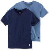 Ralph Lauren Boys' or Little Boys' 2-Pack V-Neck Cotton Undershirts