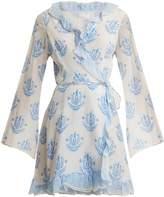 ATHENA PROCOPIOU Vagabond long-sleeve wrap dress