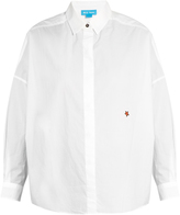 MiH Jeans Carter star-embroidered shirt