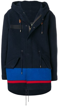 Mr & Mrs Italy Hooded Zip-Up Coat