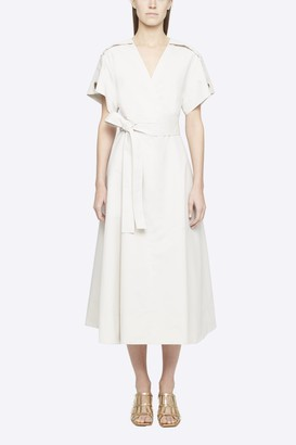 3.1 Phillip Lim Crossover Tied Waist Dress