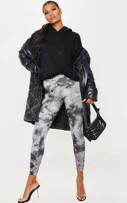 ASA Trad Light Grey Tie Dye Leggings