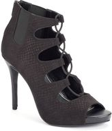 JLO by Jennifer Lopez Women's Lace-Up High Heels