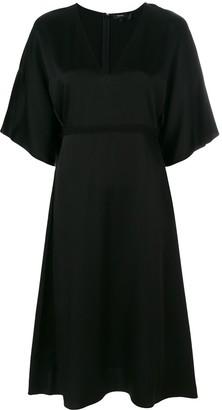 Theory Kensington V-neck dress