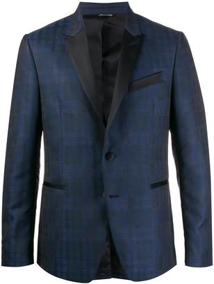 Reveres 1949 Peak-Lapel Checked Blazer
