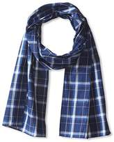 J.Mclaughlin J. McLaughlin Men's Cotton Plaid Scarf