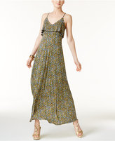 MICHAEL Michael Kors Quinn Printed Flounce Maxi Dress