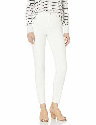 Blank NYC Women's High Rise Skinny Jeans in White