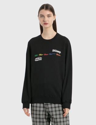 Stussy City Banners Crew Sweatshirt