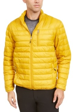 Club Room Hawke & Co. Outfitter Men's Packable Down Blend Puffer Jacket, Created for Macy's