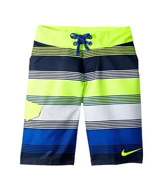 Nike Drift 9 Boardshort (Big Kids) (Volt) Boy's Swimwear