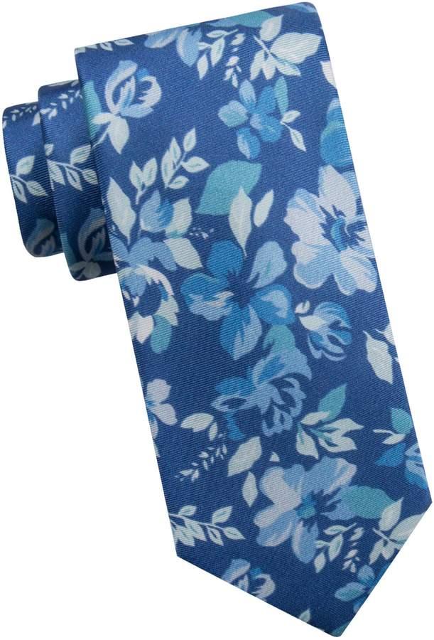 f9f456da Floral-Print Silk Tie