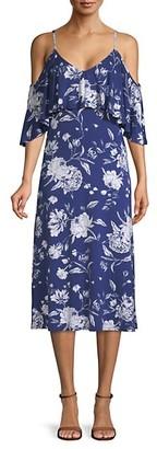 Rachel Pally Jae Cold-Shoulder Midi Dress