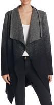 BB Dakota Kinney Ombre Drape Front Sweater Coat