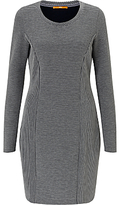 HUGO BOSS BOSS Orange Dadress Knitted Dress, Medium Grey
