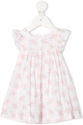 Tartine et Chocolat Ruffled Sleeves Floral Print Dress