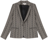 Paul & Joe Feather Print Blazer