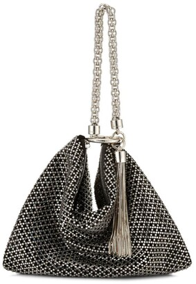 Jimmy Choo Diamante-Embellished Callie Clutch