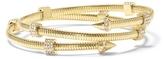Vince Camuto Goldtone Jeweled Coil Bracelet