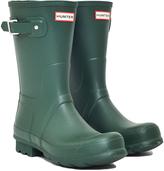 Hunter Short Rain Boot Green