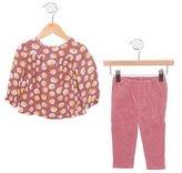 Stella McCartney Girls' Floral Print Corduroy Pant Set w/ Tags