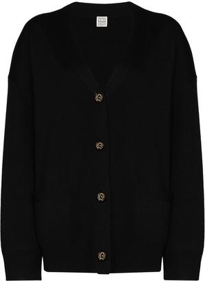 Totême Vinci button-up cardigan