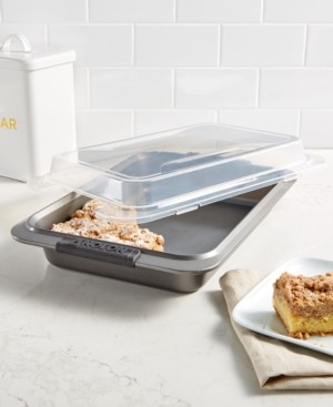 """Anolon Advanced 9"""" x 13"""" Covered Cake Pan"""