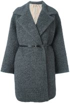 No.21 belted coat - women - Alpaca/Mohair/Wool/Polyester - 44