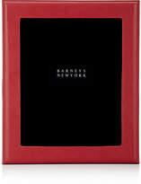 "Barneys New York Studio Grained-Leather 8"" x 10"" Picture Frame"