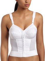 Exquisite Form Women's Front Close Longline Bra 5107530