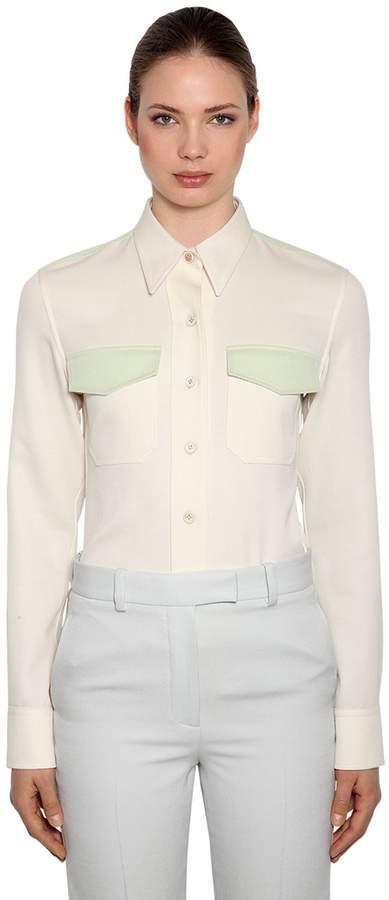 Calvin Klein Wool Twill Shirt