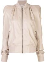 Rick Owens Zionic structured shoulder bomber jacket