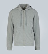 Thumbnail for your product : Sunspel Cotton-jersey hooded sweatshirt