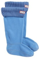 Hunter Women's Tall Cardigan Knit Cuff Welly Boot Socks