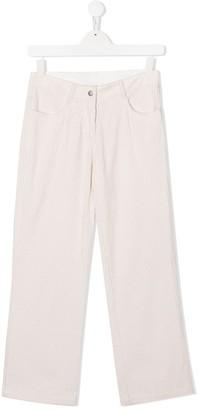 Stella Mccartney Kids TEEN corduroy straight-leg trousers
