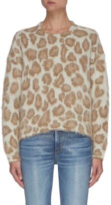 Rag & Bone/JEAN Cheetah Print Sweater