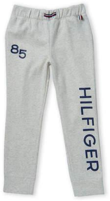 Tommy Hilfiger Girls 7-16) Oat Heather '85 Fleece Pants
