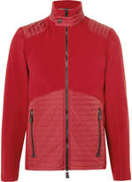 Moncler Grenoble - Shell-panelled Fleece Mid-layer Jacket