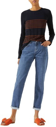 Jigsaw Hampton Super Soft Jeans, Mid Blue