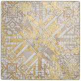 Kim Seybert Set of 4 Distressed Place Mats - Gold