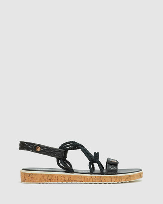 Oxford Women's Flatforms - Maribel Leather Flatform - Size One Size, 36 at The Iconic