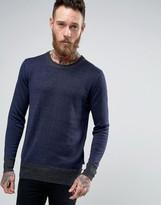 Scotch & Soda Knitted Crew Neck Sweater